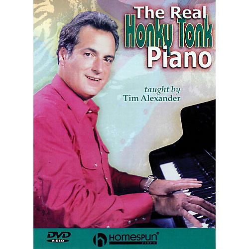 Homespun The Real Honky Tonk Piano Homespun Tapes Series DVD Written by Tim Alexander-thumbnail