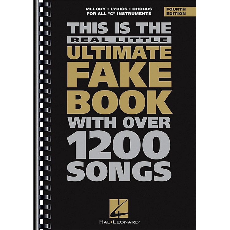 Hal Leonard The Real Little Ultimate Fake book 3rd Edition