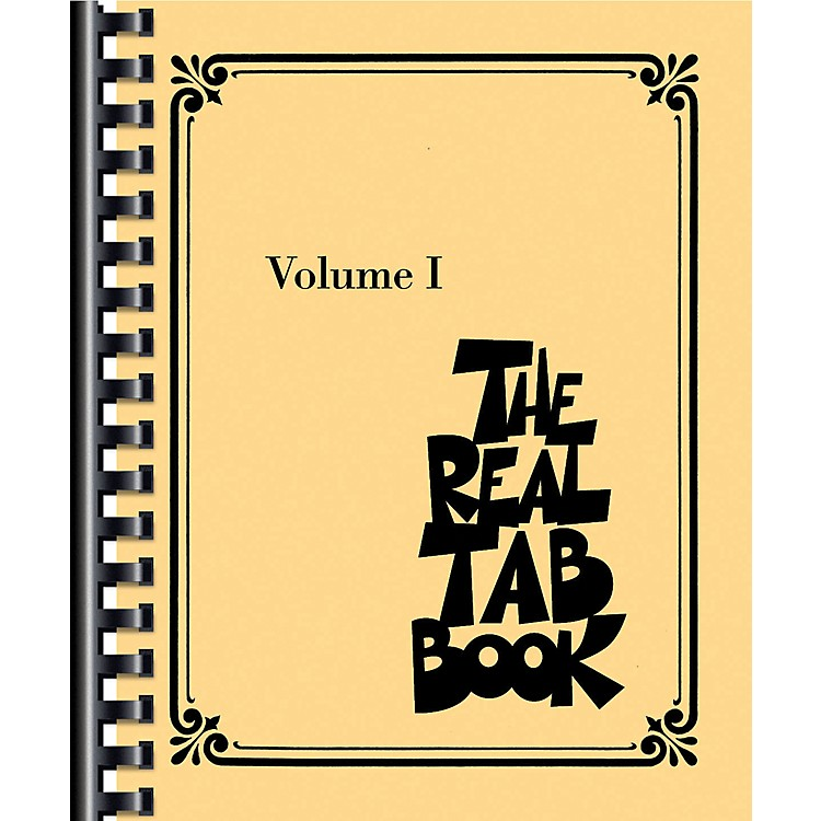 Hal LeonardThe Real Tab Book - Vol. 1 (Guitar Tab)