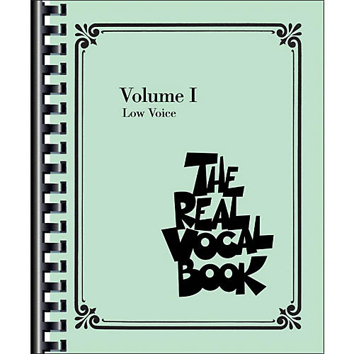 Hal Leonard The Real Vocal Book - Volume 1 Low Voice