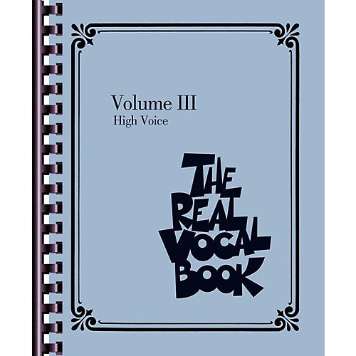 Hal Leonard The Real Vocal Book - Volume 3 - High Voice-thumbnail