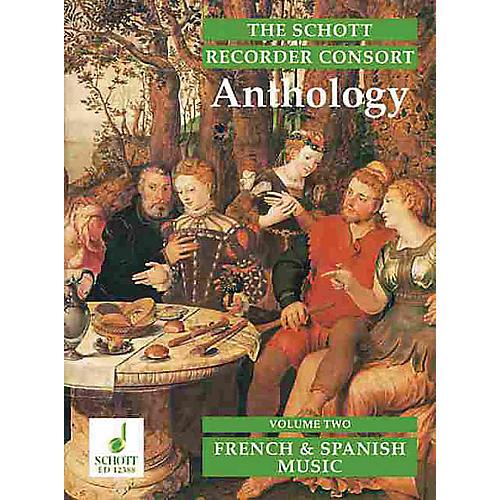 Schott The Recorder Anthology - Volume 2 Schott Series by Various Arranged by Bernard Thomas-thumbnail