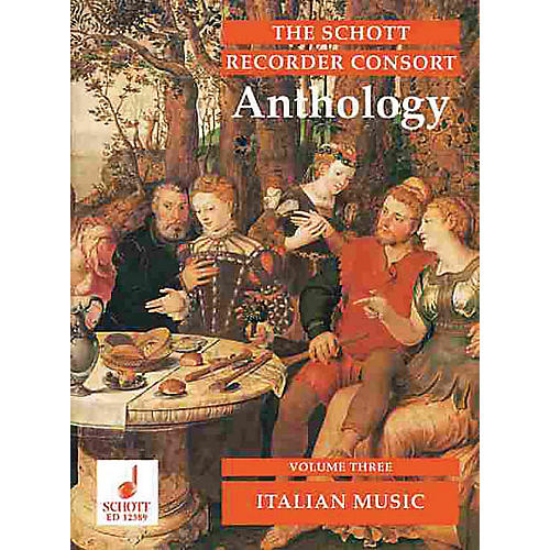 Schott The Recorder Anthology - Volume 3 Schott Series by Various Arranged by Bernard Thomas