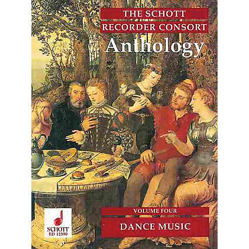 Schott The Recorder Anthology - Volume 4 Schott Series by Various Arranged by Bernard Thomas