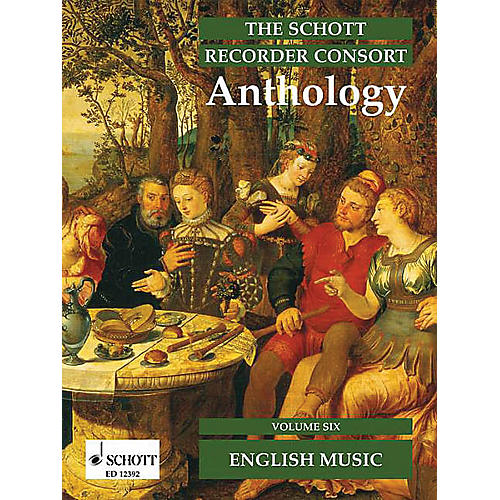 Schott The Recorder Anthology - Volume 6 Schott Series by Various Arranged by Bernard Thomas