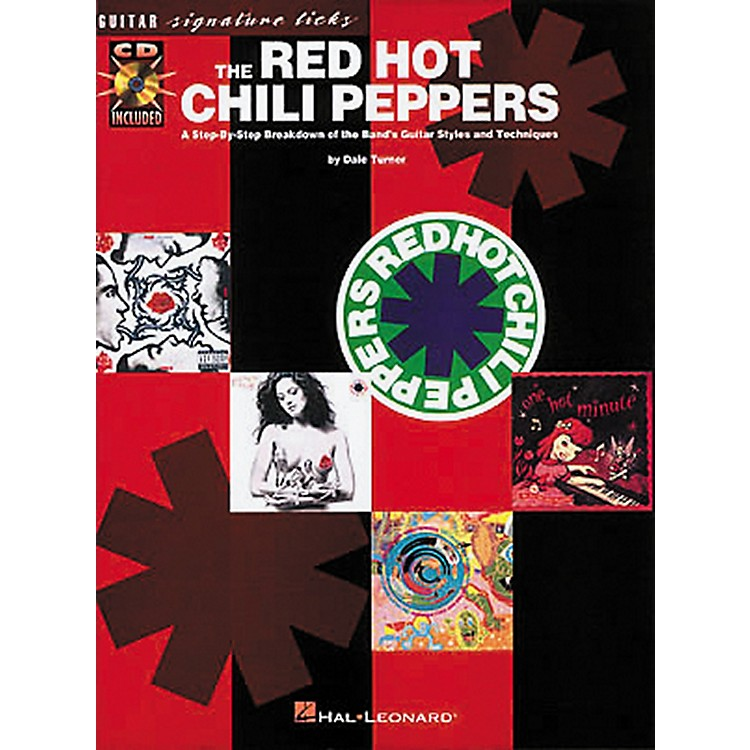 Hal LeonardThe Red Hot Chili Peppers Guitar Signature Licks Book with CD
