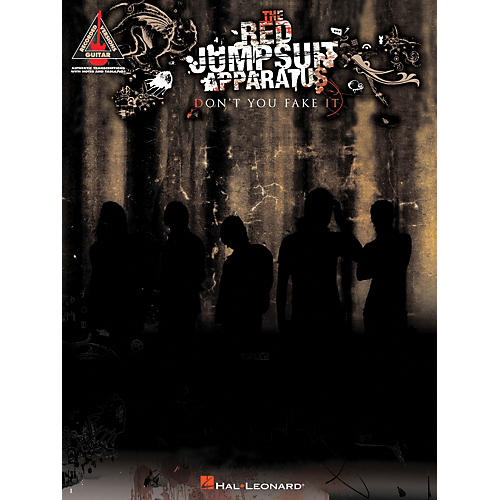 Hal Leonard The Red Jumpsuit Apparatus - Don't You Fake It Guitar Tab Songbook-thumbnail