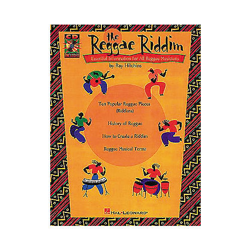 Hal Leonard The Reggae Riddim (Book and CD Package)-thumbnail