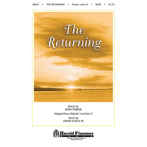 Shawnee Press The Returning SATB composed by John Parker