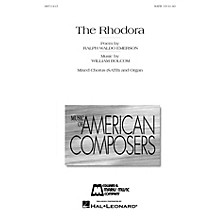 Edward B. Marks Music Company The Rhodora (On Being Asked, Whence Is the Flower?) SATB composed by William Bolcom