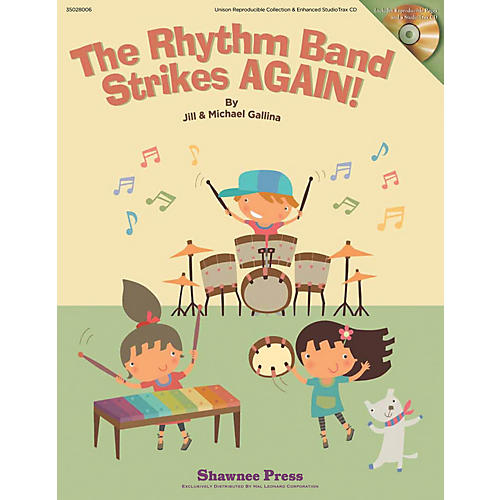 Shawnee Press The Rhythm Band Strikes AGAIN! REPRO COLLECT UNIS BOOK/CD Composed by Jill Gallina-thumbnail