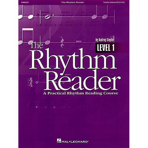 Hal Leonard The Rhythm Reader - A Practical Rhythm Reading Course Teacher Edition-thumbnail