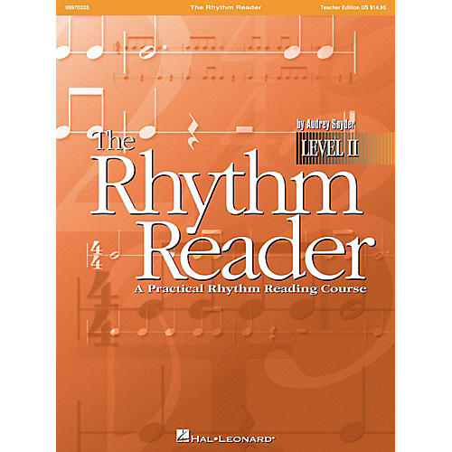 Hal Leonard The Rhythm Reader II - A Practical Rhythm Reading Course Accompaniment CD-thumbnail