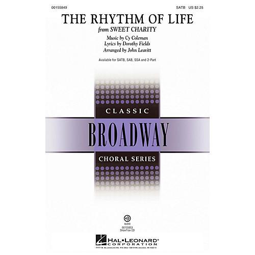 Hal Leonard The Rhythm of Life (from Sweet Charity) SATB arranged by John Leavitt