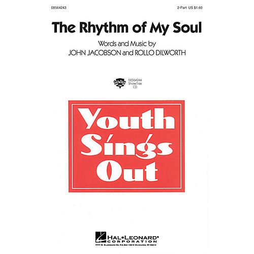 Hal Leonard The Rhythm of My Soul 2-Part composed by John Jacobson-thumbnail