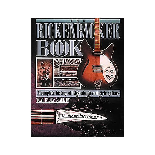 Hal Leonard The Rickenbacker Reference Book-thumbnail