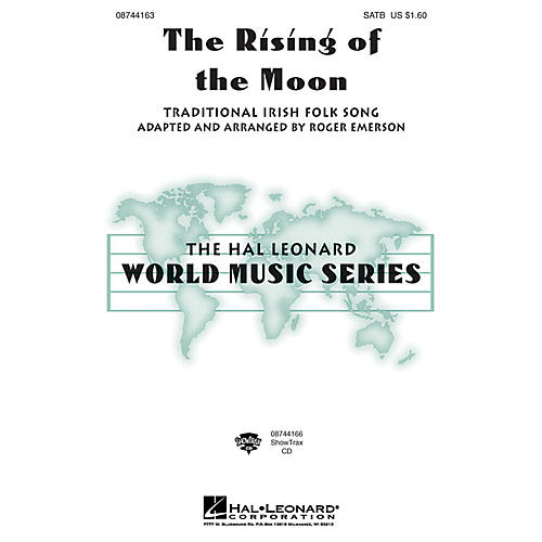 Hal Leonard The Rising of the Moon SATB arranged by Roger Emerson