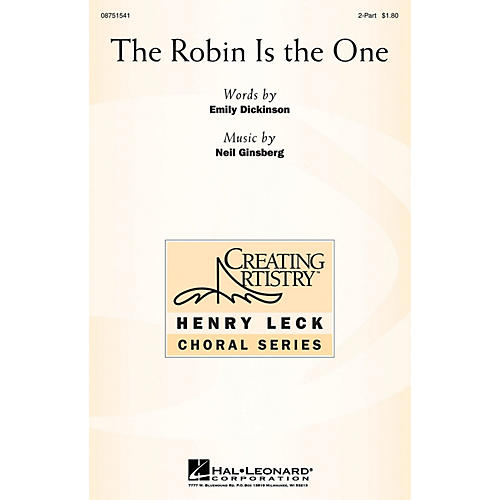 Hal Leonard The Robin Is the One 2-Part composed by Neil Ginsberg-thumbnail