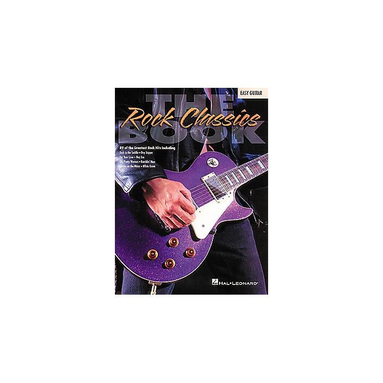 Hal LeonardThe Rock Classics Easy Guitar Tab Songbook
