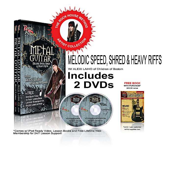 Rock House The Rock House Method - Alexi Laiho DVD Collection