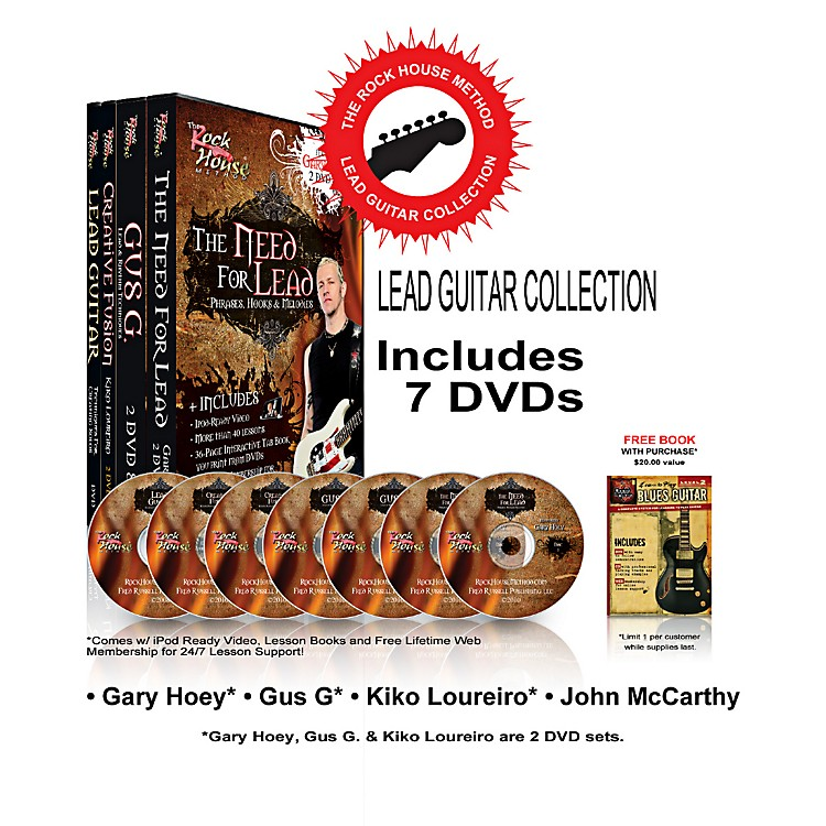 Rock HouseThe Rock House Method - Lead Guitar DVD Collection