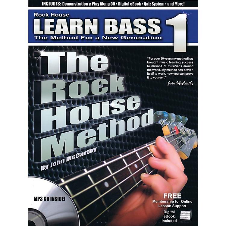 Rock HouseThe Rock House Method - Learn Bass Guitar Book 1 (Book/CD)