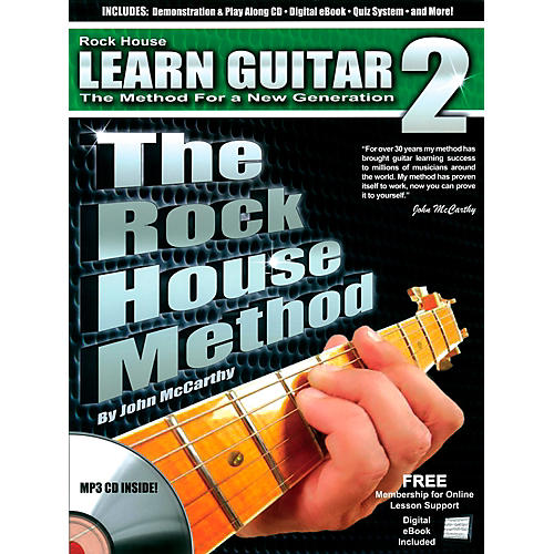 Rock House The Rock House Method - Learn Guitar Book 2 (Book/CD)-thumbnail