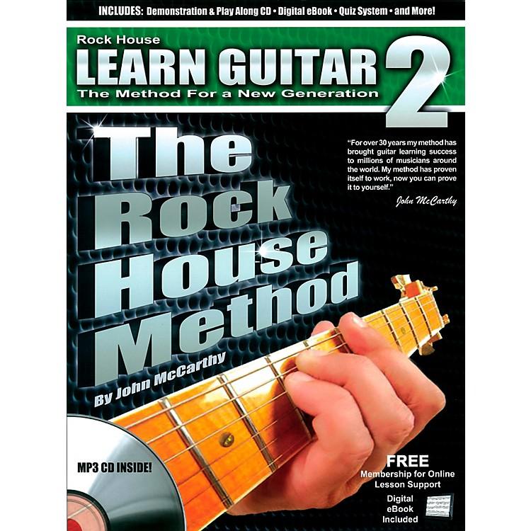 Rock HouseThe Rock House Method - Learn Guitar Book 2 (Book/CD)