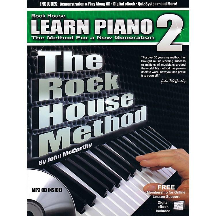Rock HouseThe Rock House Method - Learn Piano Book 2 (Book/CD)