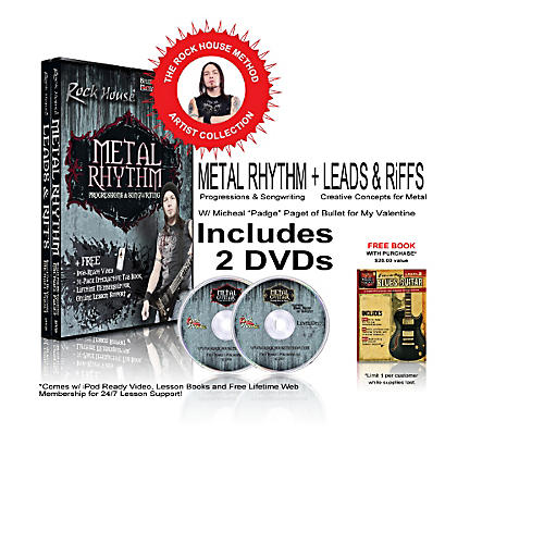 Rock House The Rock House Method - Michael Paget DVD Collection