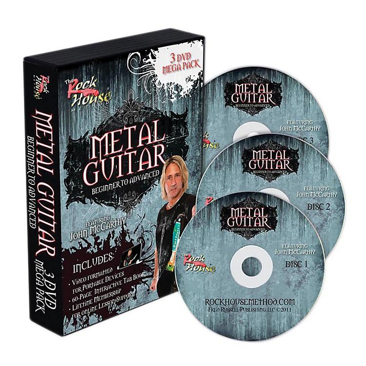 Rock HouseThe Rock House Method Metal Guitar Mega Pack (3-DVD Set)