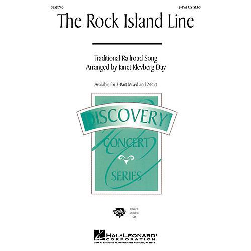 Hal Leonard The Rock Island Line 2-Part arranged by Janet Klevberg Day-thumbnail