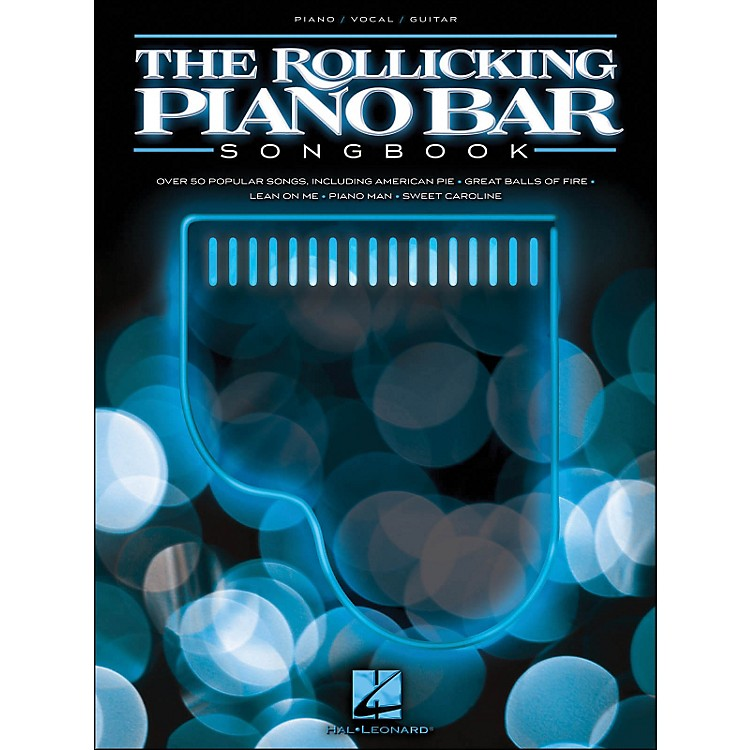 Hal LeonardThe Rollicking Piano Bar Songbook arranged for piano, vocal, and guitar (P/V/G)