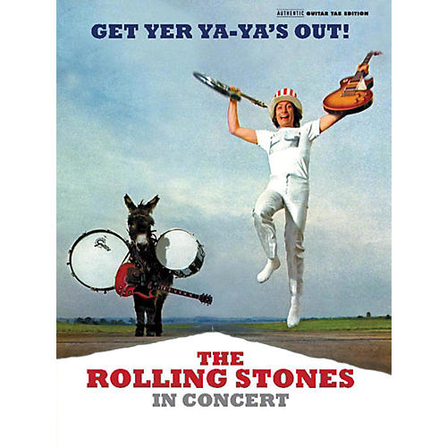 Alfred The Rolling Stones - Get Yer Ya-Ya's Out! Guitar TAB Book-thumbnail