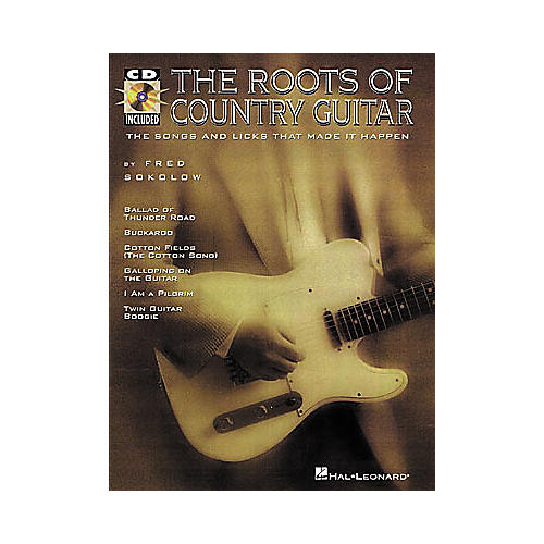 Hal Leonard The Roots of Country Guitar (Book/CD)