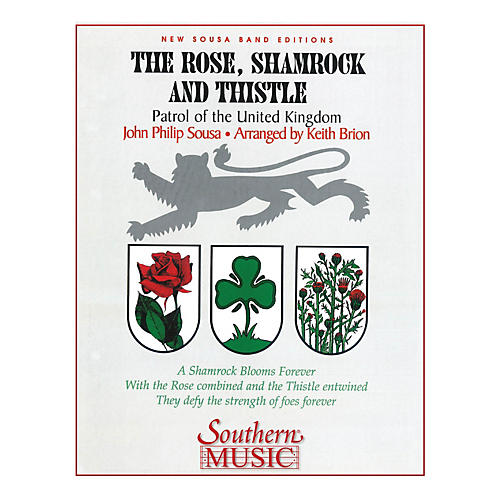 Southern The Rose, Shamrock & Thistle (Band/Concert Band Music) Concert Band Level 3 Arranged by Keith Brion-thumbnail