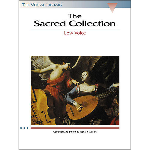 Hal Leonard The Sacred Collection for Low Voice (The Vocal Library Series)