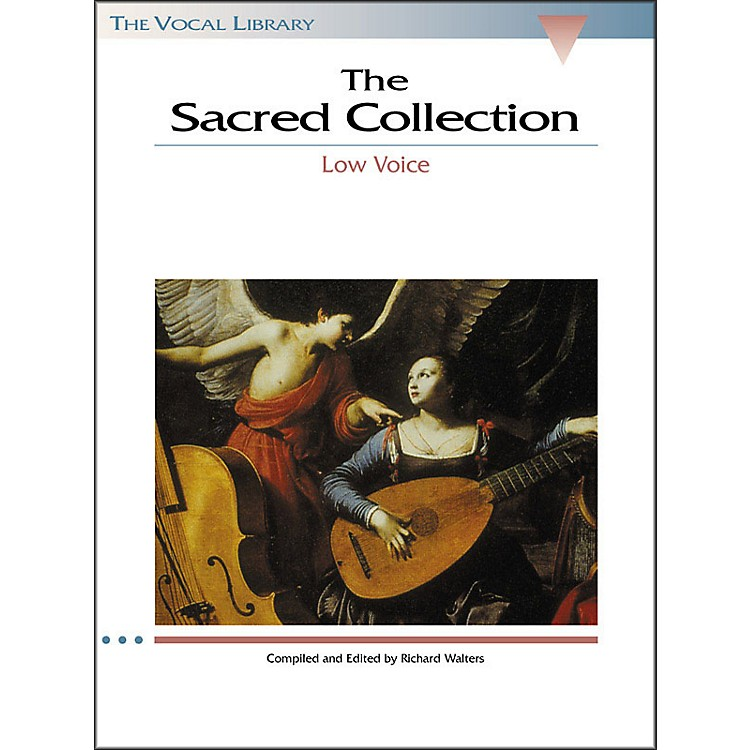 Hal LeonardThe Sacred Collection for Low Voice (The Vocal Library Series)