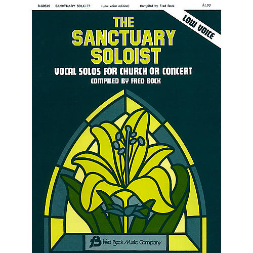 Fred Bock Music The Sanctuary Soloist Vocal Collection (Low Voice)