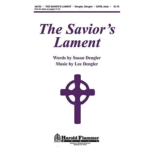 Shawnee Press The Savior's Lament SATB composed by Susan Naus Dengler