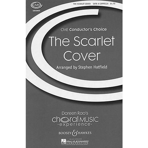 Boosey and Hawkes The Scarlet Cover (CME Conductor's Choice) SATB a cappella arranged by Stephen Hatfield-thumbnail