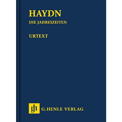 G. Henle Verlag The Seasons Hob. XXI:3 Henle Study Scores Series Hardcover Composed by Joseph Haydn Edited by Armin Raab-thumbnail
