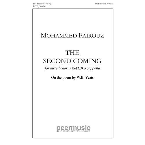 Peer Music The Second Coming SATB a cappella Composed by Mohammed Fairouz