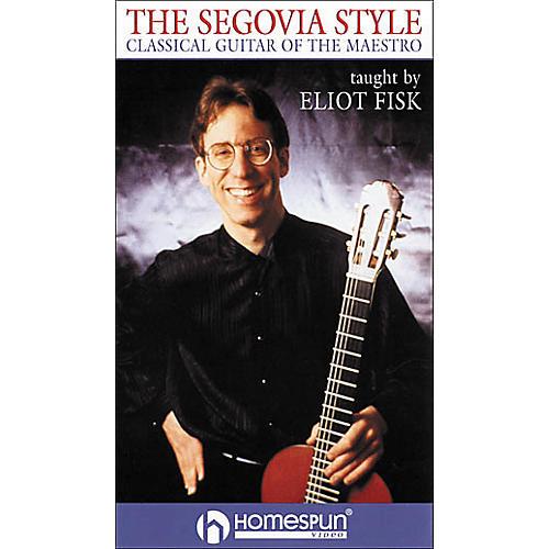 Homespun The Segovia Style (VHS)