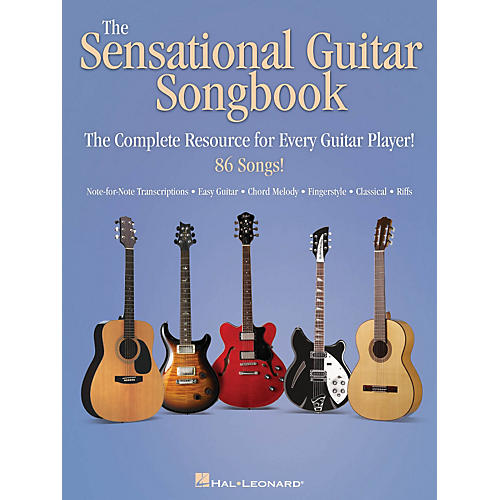 Hal Leonard The Sensational Guitar Songbook - The Complete Resource for Every Guitar Player!-thumbnail