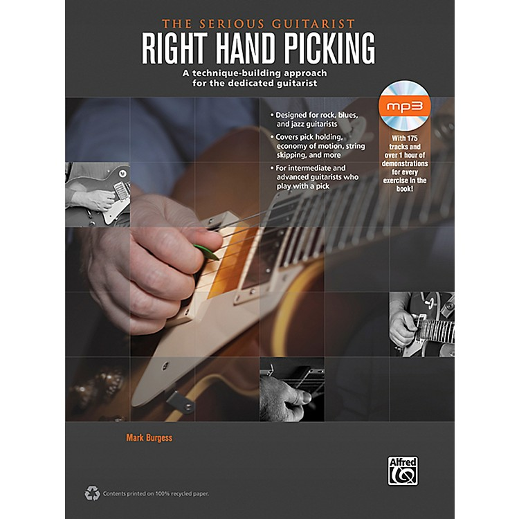 Alfred The Serious Guitarist: Right Hand Picking Book & CD