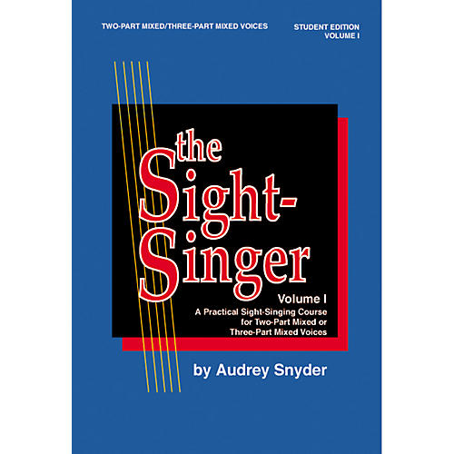Alfred The Sight Singer Mixed Volume 1 Student Edition