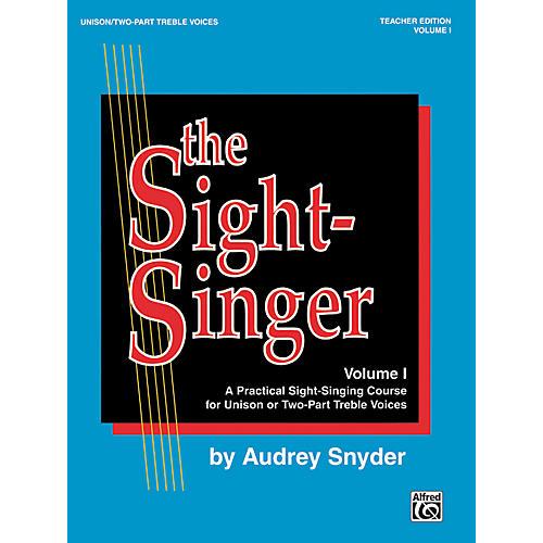 Warner Bros The Sight Singer Unis Volume 1 Teacher's Edition