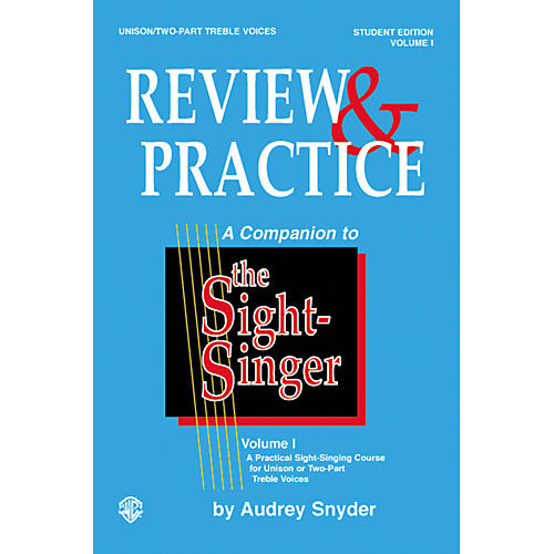 Alfred The Sight-Singer Unison Voices Review and Practice, Edition A