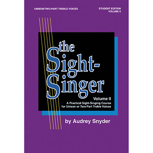 Alfred The Sight-Singer Unison Voices Student Edition, Volume 2-thumbnail